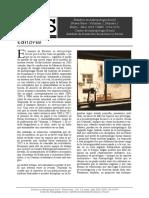 """Estudios en Antropologí Social, Vol. 1, No 1, Nueva Serie - """"Editorial"""" Por Fernando Alberto Balbi"""
