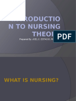 Introduction to Nursing Theory
