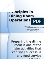 Dining Room Operations