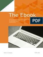 eBook 4 Template - Orange