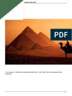 Le Devoilement Des Effets Du Voyage Dibn Arabi