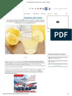 Las Propiedades Curativas Del Limón - Mejor Con Salud