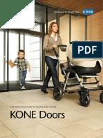 KONE Doors Brochure 2012