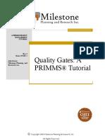 Quality Gates a Tutorial v2.1