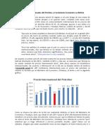 Precios Internacionales Del Petróleo y Crecimiento Económico en Bolivia