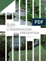 PLAN NACIONAL DE CONSERVACIÓN PREVENTIVA