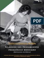 Clásicos del pensamiento pedagógico mexicano.pdf
