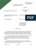 Judge Approves AG Motion