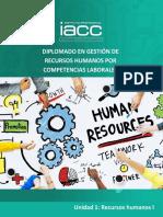 Unidad 1 - Dirección de Recursos Humanos