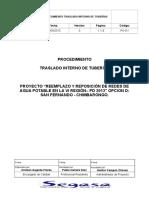 PO-011 Traslado Interno de Tuberías