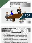 Creating Effective Meetings