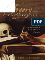 Bart Ehrman - Forgery Counter Forgery