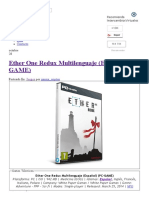 Ether One Redux Multilenguaje (Español) (PC-GAME) - IntercambiosVirtuales