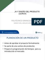 Planecaion y diseño del producto .pdf