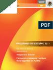 Asignatura Puebla 2012
