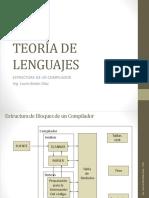 04 Teoria de Lenguajes - Estructura de Un Compilador