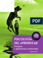 PsicologA.a Del Aprendizaje. Pr - Manuel Froufe