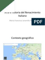 Unidad 2 Arte e Historia Del Renacimiento - Francisca Jaramillo