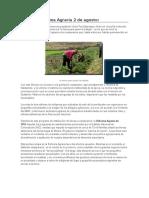 Reforma Agraria 2 de Agosto
