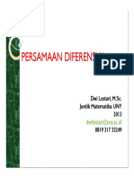Ppt Persamaan Diferensialx 0