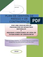 PLAN DE GESTION DE RIESGO Y DE CONTINGENCIA  PARA IMPRIMIR.doc