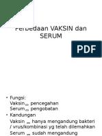 Perbedaan Vaksin Dan Serum