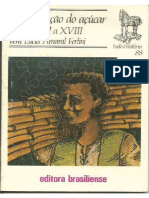 A Civilização Do Açúcar - Séculos XVI a XVIII - Vera Lúcia Amaral Ferlini