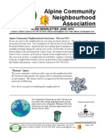 ACNA June 2010 Newsletter