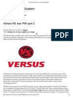 Antara HS Dan PW Part 2 _ Part of Hitman System