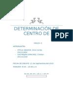 Determinación de Centro de Presiones