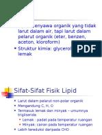 Lipid-Sruktur  dan Sifat.ppt