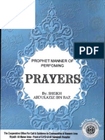 PROPHET MOHAMMAD'S MANNER OF PERFORMING PRAYERS