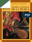 Teoria General de La Musica Grabner