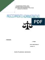 Análisis Procedimiento Administrativo