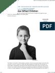 Gifted Children - Steve Jobs Advice - Parenting