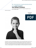 Gifted Children - Steve Jobs Advice - Parenting