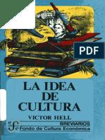 [2051] La Idea de Cultura - Victor Hell