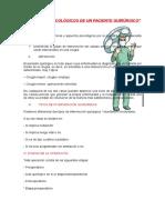 Aspectos Psicológicos de Un Paciente Quirúrgico (Final)