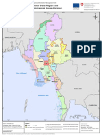 Adminstration Zoning in Myanmar