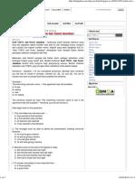 Contoh Soal TOEFL Terbaru Dan Kunci Jawaban