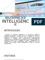 Business Intelligence - Apresentacao
