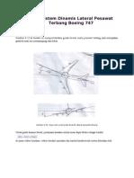 Simulasi Sistem Dinamis Lateral Pesawat