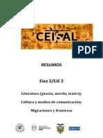 EJE 2 - Literatura Cultura y Medios de Comunicación.pdf; Migraciones y Fronteras