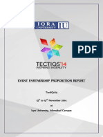 Event Partnership Proposition - Tectiqs 14