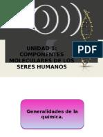 Componentes Moleculares de Los Seres Humanos