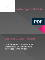 Diagnostico Periodontal Ultimo