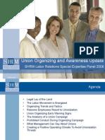Union Organizing Awareness