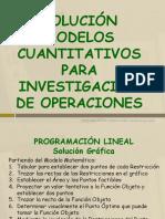 IO Programacion Lineal Solucion Grafica y SIMPLEX
