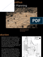 Olynthus Town Planning