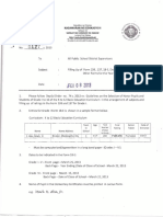 2013-DM No. 0127-Filling Up Form 138,137,18-E Elem. Certificates and Other Forms Forthe Year End Reports